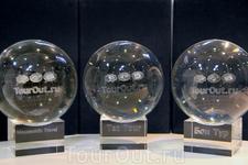 Награды Лучших туроператоров 2012 от TourOut.ru