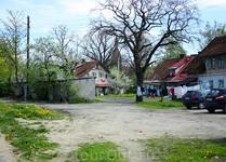 Во дворах Зеленоградска