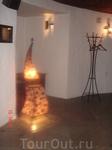 это светильник в ресторане Castell