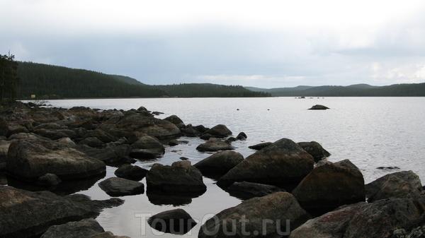 Озеро Inarijarvi