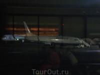 Наш самолётик, ещё чуть чуть и полетим!