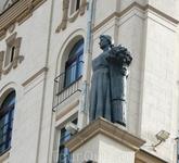 "Скульптура на ""Воротах города"""