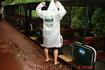 На следующий день отправились на Аргентинскую сторону водопадов.  Там к водопадом нужно ехать через  парк на экологическом поезде, который работает на ...