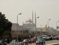 Там,вдали - Цитадель Салладина и мечеть Мохаммеда Али.