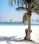 Mamzar Beach Park в Дубае.
