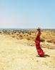 в приятном пустынно-морском ветерке... ГУЭЛЛАЛА, остров Джерба - Тунис