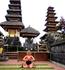После проведённой медитации. Храм Пура Бесаких . Индонезия. БАЛИ