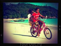 о. Ко Липе, пляж Паттайя