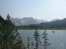 Озеро 1430 метров над уровнем море в седловине хребта Агульские белки в 3-х км. от Кинзелюкского водопада.