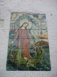 на одном из домов города Тосса де Мар