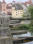 Это Каменнй мост Регенсбурга