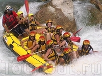 Cпуск по горной реке Даламан