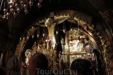 Храм Гроба Господня. Голгофа.