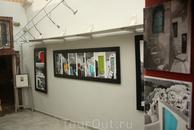 В одной из галерейных мастерских поселка Ойя