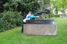 Олимпийский парк. Парковая скульптура.